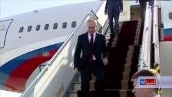 پوتین برای مذاکرات سه جانبه با ایران و آذربایجان، به تهران رفته است
