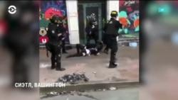 Протесты и федеральная полиция