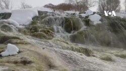 پارک ملی بند امیر در فصل زمستان