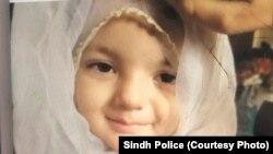 دو سالہ بچی انعم راشد، جسے اس کی ماں نے سمندر میں پھینک کر ہلاک کر دیا۔