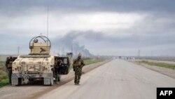 庫爾德武裝在基爾庫克省控制主要道路