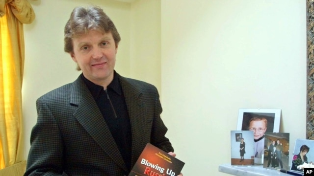 Alexander Litvinenko pictured in 2002.
