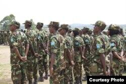 Danab commando unit. (Somalia Handout Photo)