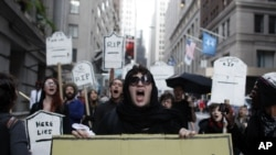US 'Occupy' Movement Marks Anniversary