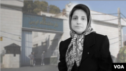 Undated image of jailed Iranian lawyer Nasrin Sotoudeh, who began a hunger strike on Aug.11, 2020 at Tehran's Evin prison to protest Iran's refusal to free other dissidents threatened by coronavirus outbreaks. (VOA Persian)