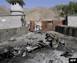 Jangarilar portlatgan harbiy baza, Panjshir viloyati