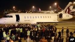 استقبال از خلبانان ترکیه در فرودگاه استانبول