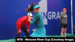 Olga Danilović na jednom od ranijih mečava na turniru u Moskvi (Foto: Moscow River Cup)