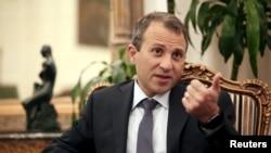 جبران باسیل وزیر امور خارجه لبنان - آرشیو