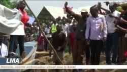Desrefugiéscentrafricains rentrent chez eux
