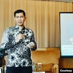 Direktur Eksekutif ICT Institute Heru Sutadi dorong orang tua ikut awasi materi pembelajaran jarak jauh. (Foto: Courtesy/Dokumen Pribadi)