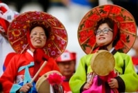 Korean fans.