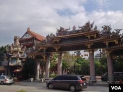 台北孔廟(美國之音許波拍攝)