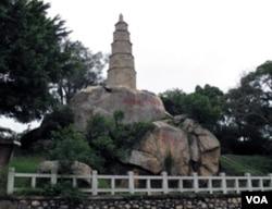 有六百度年历史的文台宝塔