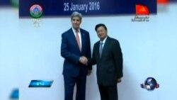 克里在京聚焦朝鲜核试