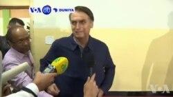 VOA60 Duniya: Dan Takarar Shugaban Kasar Brazil Mai Ra'ayin Rikau , Jair Bolsonaro, Ya Ci Zagaye Na Farko Da Kuri'u 46 Cikin Dari