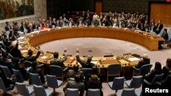 ریاست هیات ۱۵نفری ملل متحد را کیرات عمروف، سفیر قزاقستان در ملل متحد، به عهده دارد