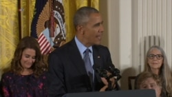 Obama: 'Today We Celebrate Extraordinary Americans'