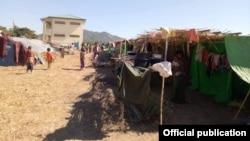 ေထာက္ပံ့ကူညီမႈ လိုအပ္ေနေသာ ရေသ့ေတာင္ၿမိဳ႕နယ္၊ သက္ျပည္က် စစ္ေဘးေရွာင္ စခန္း။ (ဇန္န၀ါရီ ၁၂၊ ၂၀၁၉ ဓာတ္ပံု - Rakhine Ethnics Congress)