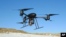 Un mini-drone (AP)