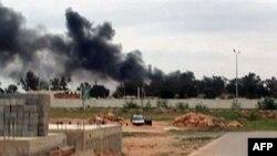 Borbe u blizini aerdroma Benina kod Bengazija, 17. mart 2011.