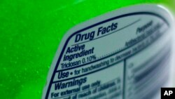 (File) Federal health regulators are questioning the safety of germ-killing ingredients found in an estimated 75 percent of anti-bacterial liquid soaps and body washes sold in the U.S.