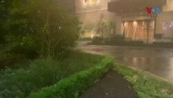 طوفان 'لورا' امریکہ کے ساحل سے ٹکرا گیا