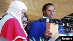 Shugaban Malawi Bingu wa Mutharika (file photo 2009)