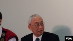 黄进兴,中央研究院院士, 2016年6月20日。(美国之音齐勇明摄影)