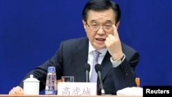中国商务部长高虎城