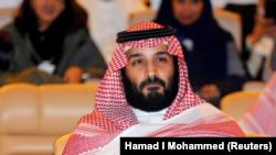 El Príncipe Heredero de Arabia Saudita Mohammed bin Salman, asiste a la conferencia de la Iniciativa de Inversión Futura en Riyadh, Arabia Saudita, el 24 de octubre de 2017.