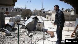 Абу Гассан вижив хімічну атаку неподалік Дамаска у 2013 році