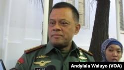 Panglima TNI, Jenderal Gatot Nurmantyo (foto: VOA/Andylala)
