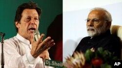 ပါကစၥတန္၀န္ႀကီးခ်ဳပ္ Imran Khan နဲ႔ အိႏိၵယ၀န္ႀကီးခ်ဳပ္ Narendra Modi