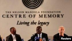 Kes berpirs bo dabeşkirina samanên Mandela.