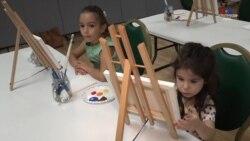 Վաշինգտոնում երեխաները նկարում էին՝ հայ զինվորներին աջակցելու համար