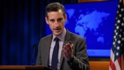 Пресс-секретарь Госдепартамента Нед Прайс (архивное фото)