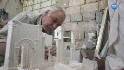 IŞİD'in Yıktığı Palmira Antik Kentinin Alçıdan Modeli