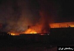 گزارش ها حاکی از آتش زدن مدرسه توسط معترضان در ارومیه است.