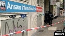 5 Mayıs 2021 - Almanya'da kapatılan Selefi harekete bağlı Ansaar International derneğinin Duesseldorf'deki ofisi