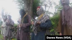 جنگجویان داعش در افغانستان (عکس از آرشیف)