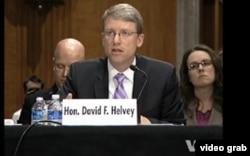 美國國防部負責東亞事務的副助理國防部長大衛.哈爾維