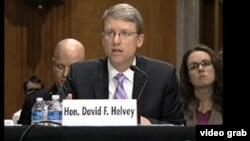 美國國防部負責東亞事務的副助理國防部長大衛.海爾維。(資料圖片)