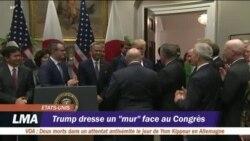 Enquête : Donald Trump choisit l'affrontement avec le Congrès