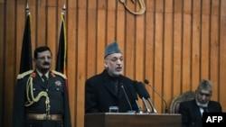 Tổng thống Karzai nói với các nhà lập pháp rằng hành động can thiệp của nước ngoài vào chính trị Afghanistan đã trở thành một vấn đề nghiêm trọng