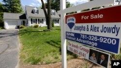 Một căn nhà được giao bán tại Mỹ.