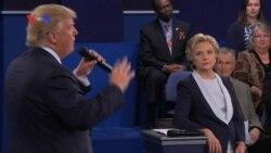Debat Hillary Clinton dan Donald Trump