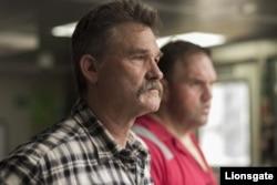 «کرت راسل» در صحنهای از فیلم «دیپواتر هورایزن»