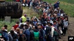 大批難民繼續涌入克羅地亞