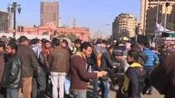 """2012-01-27 粵語新聞: 埃及人紀念""""憤怒之日""""一週年再次抗議"""